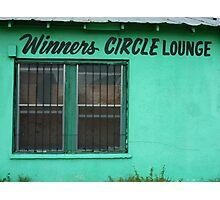 Winner's Circle Lounge Photographic Print
