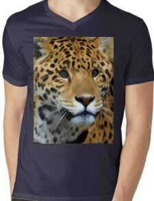 Jaguar Wild Cat  Mens V-Neck T-Shirt