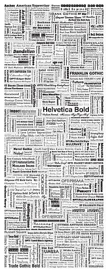Font Poster by satorenalin