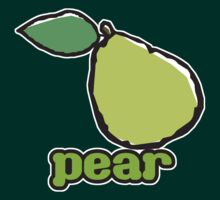 Pear by evisionarts