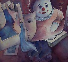 Picasso meets Raggedy Ann by Ellen Keagy