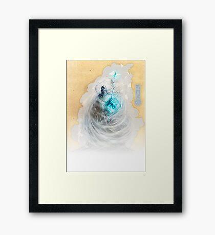 The White King-Rook's Pawn Framed Print