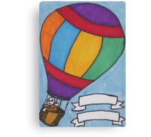 Birthday Balloon Canvas Print