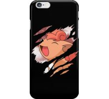 pokemon vulpix anime manga shirt iPhone Case/Skin
