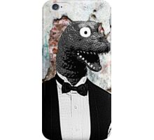 Bow-tie Dinosaur  iPhone Case/Skin