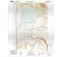 USGS Topo Map Oregon Sycan Marsh East 281731 2004 24000 Poster