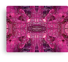Freak Freak Freaky Pinky Canvas Print