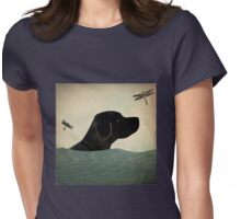 Labrador dog Womens Fitted T-Shirt