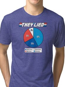 They Lied! Tri-blend T-Shirt