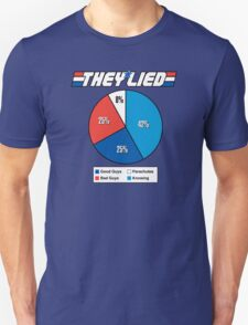 They Lied! Unisex T-Shirt