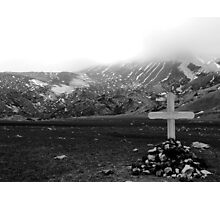 Death in isolation Photographic Print
