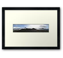 The last frontier Framed Print