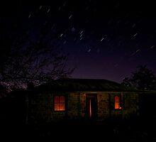 Evening falls by Geraldine Lefoe