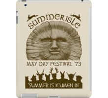 Summerisle May Day Festival 1973 iPad Case/Skin