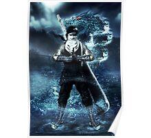 Zabuza water dragon Jutsu Poster
