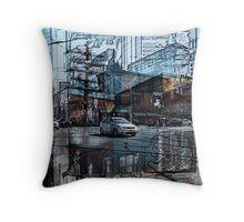 toronto live - Queen Street Throw Pillow