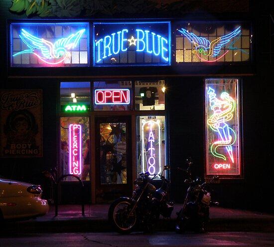 True Blue not you by luckylarue