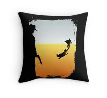 ...And the Gunslinger followed Throw Pillow
