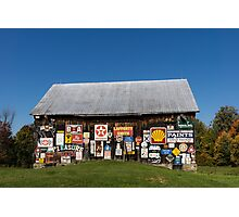 Roadside Gems - the Pleasure Barn Photographic Print