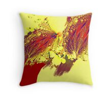 """Triumph Over Gravity"" Throw Pillow"