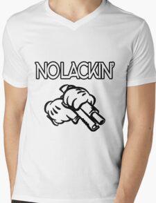 No lackin' Mens V-Neck T-Shirt