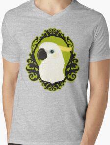 Cockatoo Cameo Mens V-Neck T-Shirt