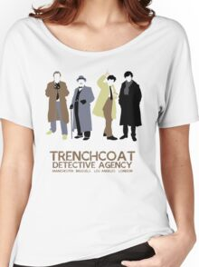 Trenchcoat Detective Agency Women's Relaxed Fit T-Shirt