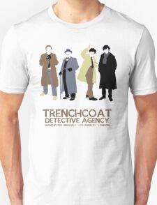 Trenchcoat Detective Agency Unisex T-Shirt