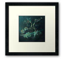 If a tree tells tales Framed Print