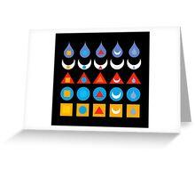 The 25 Tattvas Greeting Card