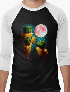 3 Sp00ns and a Moon Men's Baseball ¾ T-Shirt