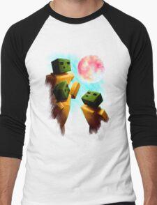 3 Sp00ns and a Moon Men's Baseball ¾ T-Shirt