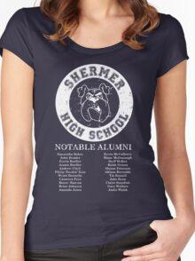 Shermer High School Alumni Women's Fitted Scoop T-Shirt