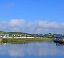 Riverside West Bay Dorset .. Sticker