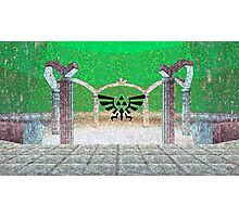 Fairy Fountain Painting Photographic Print