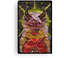 Tarot Card Canvas Print