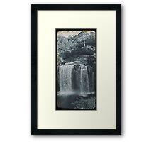 Vintage Dangar Falls, Dorrigo II Framed Print