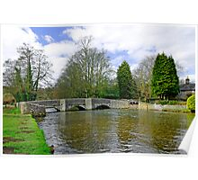 Sheepwash Bridge, Ashford-in-the-Water Poster