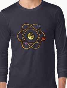 Atom. Long Sleeve T-Shirt