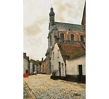 Beguinage Church - Lier - Belgium Photographic Print