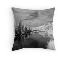 Derwent River Throw Pillow