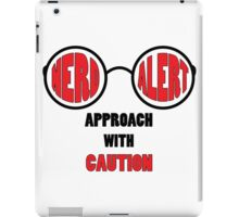 Nerd Alert! iPad Case/Skin