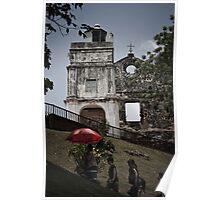 St Paul's Church - Malacca Poster