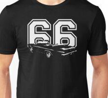 1966 CHEVY IMPALA SS Converitable Rear View Year Dark Unisex T-Shirt