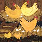 'Chookie House' - A little bit of Country... by Lisa Frances Judd ~ QuirkyHappyArt