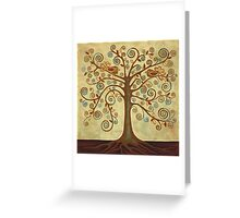 'Tree of Life' Acrylic Painting Greeting Card