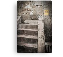Steps to Nowhere - Penang Canvas Print