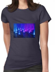 Multimedia Fountains in Plovdiv, BULGARIA Womens Fitted T-Shirt
