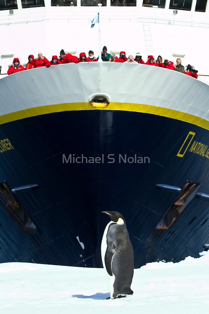 The Emperor Holding Court by Michael S Nolan