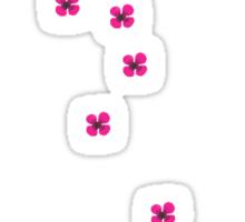 Cherry Blossom Bird Cage Sticker